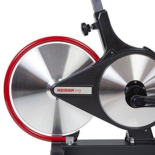 Keiser M3i Indoor Cycle Black