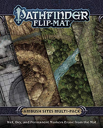 Pathfinder Flip-Mat: Ambush Sites Multi-Pack