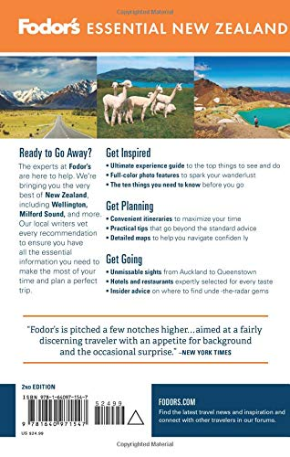 Fodor's Essential New Zealand (Full-color Travel Guide)