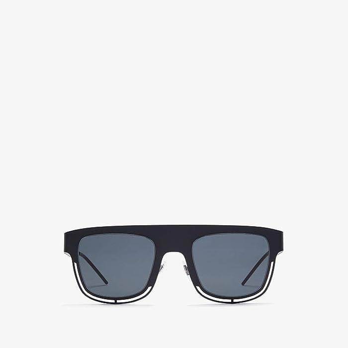 Dolce and Gabbana  DG2232 (Matte Black/Grey) Fashion Sunglasses