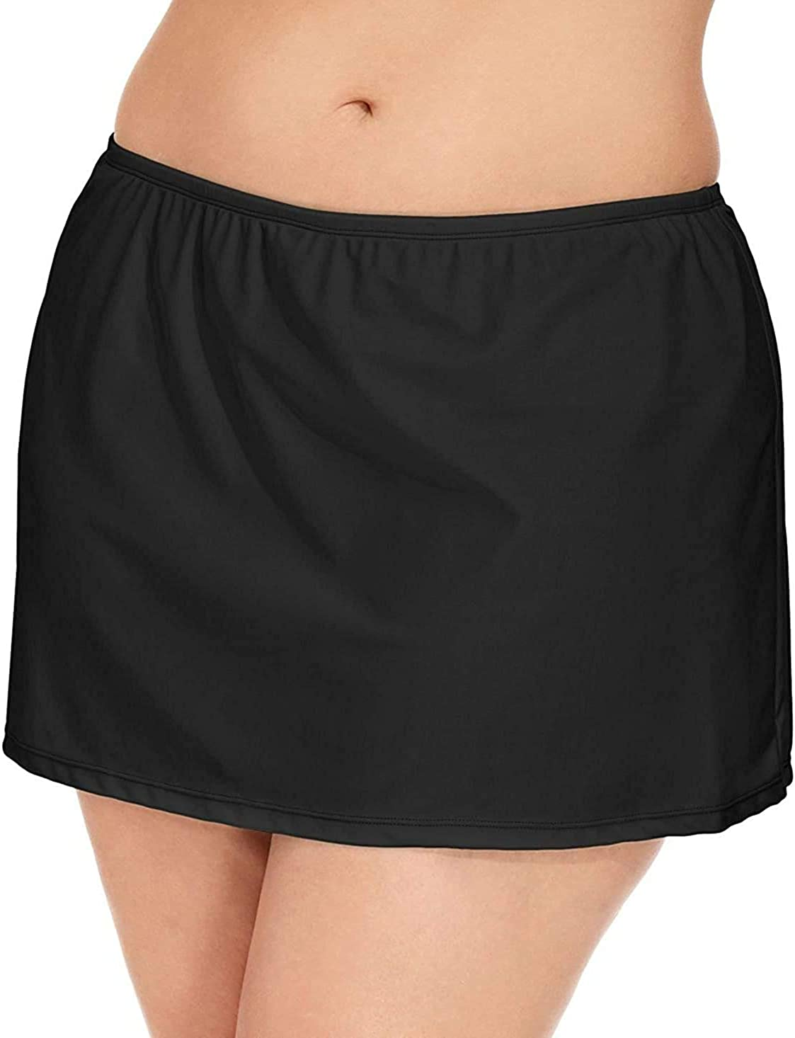 Island Escape Women's Plus Size Skirt Swim Bottom Separates