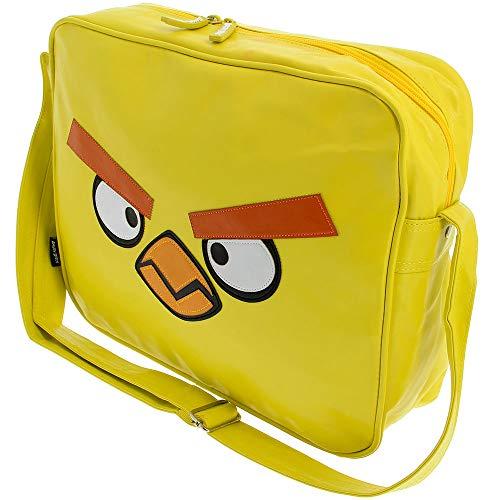 Chuck Yellow Messenger Bag - Angry Birds Shoulder Messenger Bag/Shoulder...
