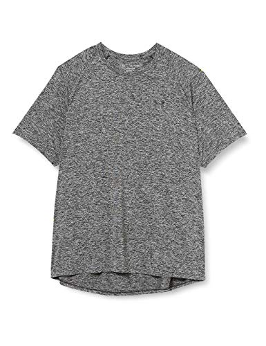 Under Armour T-shirt Uomo Tech,BLK/BLK,LG