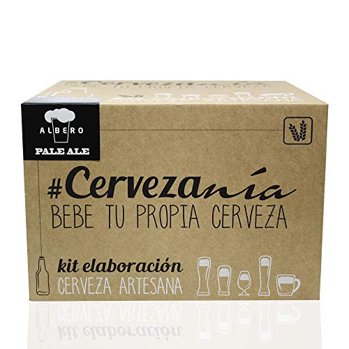 #Cervezanía - Kit de elaboración de cerveza rubia Pale Ale | 5...