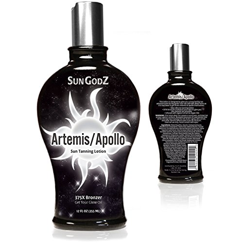 Indoor Tanning Lotion with Bronzer for Indoor Tanning Beds - Dark Tan Accelerator and Pro Tan Lotion...
