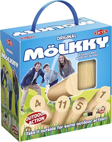 Tactic Mölkky 54903 - Caja de cartón con asa