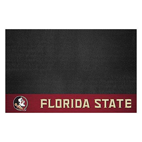 FANMATS NCAA Florida State University Seminoles Vinyl Grill Mat