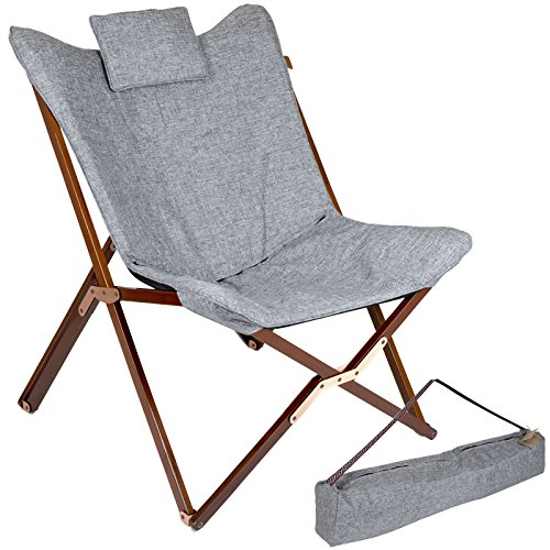 Bo-Camp Urban Outdoor-Relaxsessel-Bloomsbury, grau, Einheitsgröße