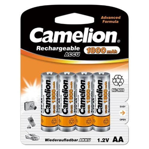 Camelion 17018406 Akku NI-MH HR6/ Mignon/ 1800mAh/ 1,2V - 4er Pack