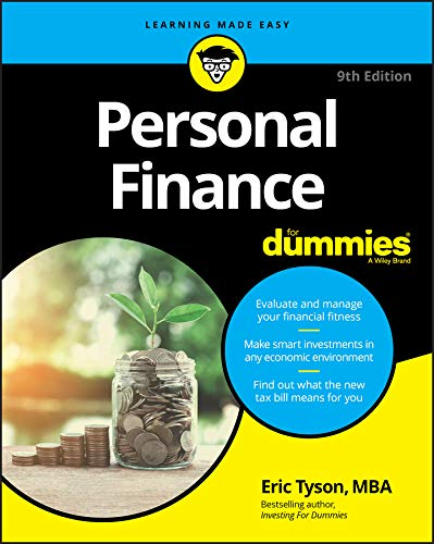 Compare Textbook Prices for Personal Finance For Dummies 9 Edition ISBN 9781119517894 by Tyson, Eric