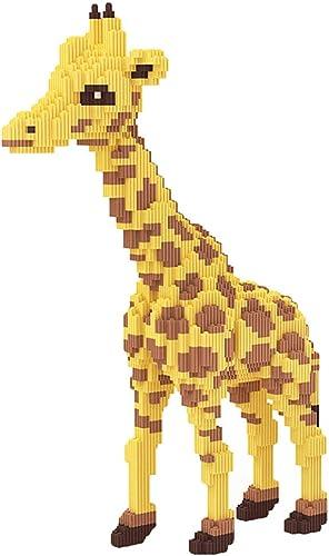 LOGOOO Kind Puzzle Spielzeug, Giraffe Umweltschutz Geruchlos Mikropartikel Geometrie Gestapelt Puzzle-Spiel