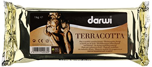 Unbekannt Darwi, Clay Terracotta – Parent, rot, 1 kg