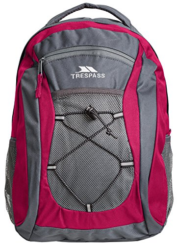 Trespass Neroli, Beetroot, Backpack / Rucksack 28L with Audio Channel, Purple