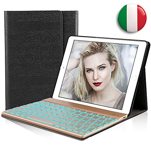 cover con tastiera tablet 10.1 DINGRICH Custodia Tablet 10.1 Tastiera Italiano