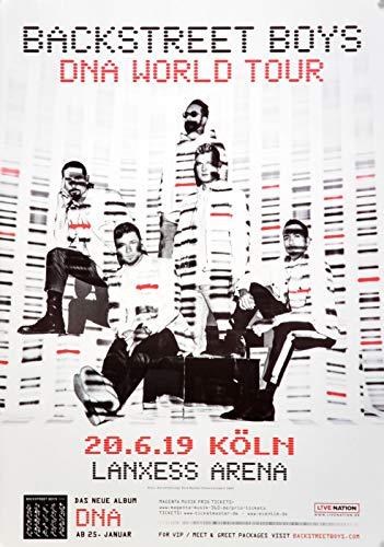 Backstreet Boys - DNA World, Köln 2019 » Konzertplakat/Premium Poster | Live Konzert Veranstaltung | DIN A1 «