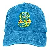 XCNGG Co-Sujetador K-a-i Karate Dojo Unisex Sombreros de Vaquero Sombrero de Mezclilla Deportivo Gor...