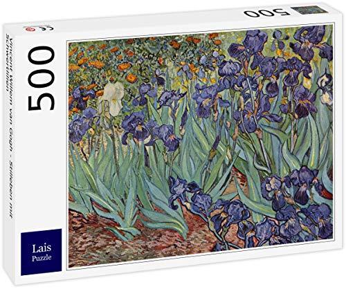 Lais Puzzle Vincent Willem Van Gogh - Natura Morta con Iris 500 Pezzi