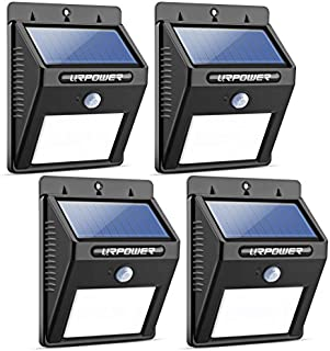 URPOWER Solar Lights Wireless Waterproof Motion Sensor...