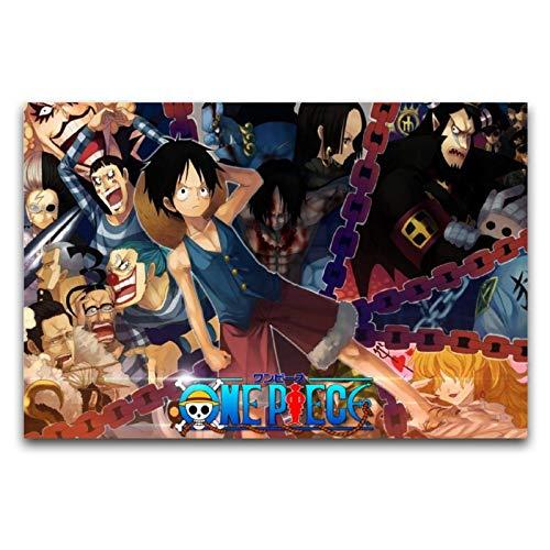 Anime Pirate Rufy (2) Tela artistica da parete, pittura Canva, decorazione da parete, stampa artistica, decorazione per la casa, ufficio, camera da letto, palestre