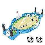 JDYDDSK Mini Tablero de fútbol Arcade Game Game Game Finger Battle Athletic Soccer Juego Power Thot Football Skills Suelo Board Juego para niños Adultos Mesa de fútbol,2 balles,L