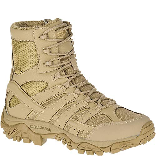 "Merrell Work Moab 2 8"" Tactical Waterproof Coyote 9.5"