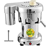VBENLEM Commercial Juice Extractor Heavy Duty Juicer Aluminum Casting and Stainless Steel Constructed Centrifugal Juice Extractor Juicing both Fruit and Vegetable