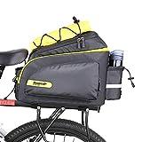 Rhinowalk Borsa Posteriore Bici, Pannier Bike Bag, Borse Multi Funzione per Rastrelliera P...