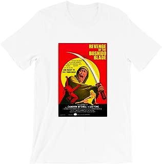The Revenge of Bushido's Blade Film Movie Poster Samurai Ninja Bushido China Vintage Gift Men Women Girls Unisex T-Shirt