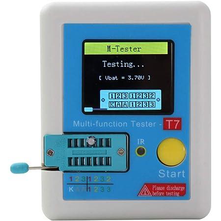 Ranuw Lcr T7 Transistor Tester Tft Diode Triode Kapazitätsmessgerät Lcr Esr Meter Datum Gewerbe Industrie Wissenschaft