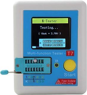 Ranuw LCR T7 Transistor Tester TFT Diode Triode Kapazitätsmessgerät LCR ESR Meter Datum