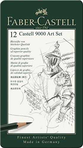 Faber Castell 9000 - Set de 12 lápices para dibujo artístico