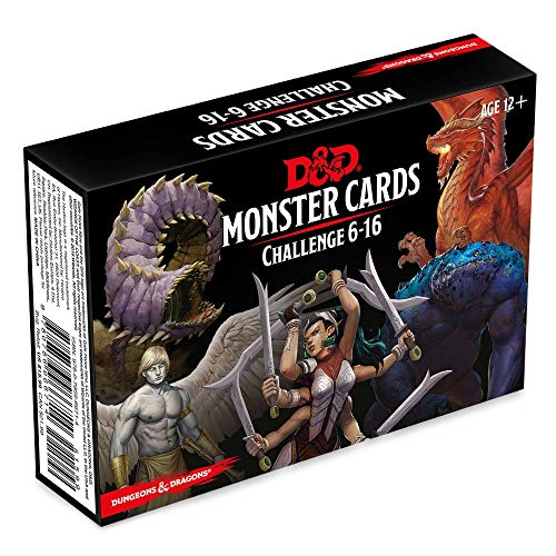 Dungeons & Dragons Spellbook Cards: Monsters 6-16 (D&d Accessory)