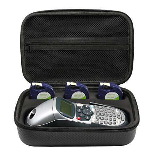 Surdarx Storage Box Carrying Case for DYMO LetraTag LT-100H Handheld Label Maker (Fit for 3-6 Extra Tapes Inside But Not Included Tape)