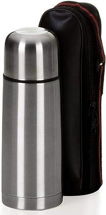 Garrafa Térmica 350ML Aço Inox Com Capa Inquebrável