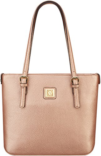 Anne Klein Rose Gold Tote Bag