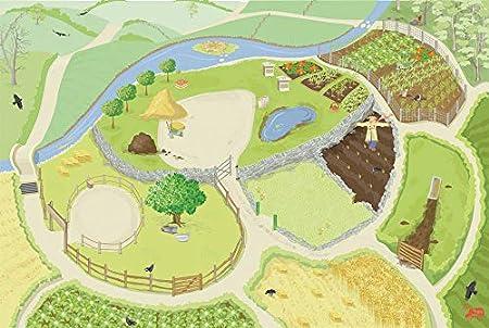 Le Toy Van – Bauernhof & Tiere Spielteppich