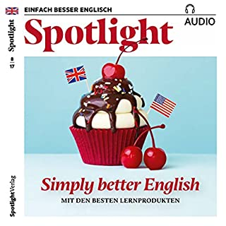 Spotlight Audio - Simply better English. 8/2017 Titelbild