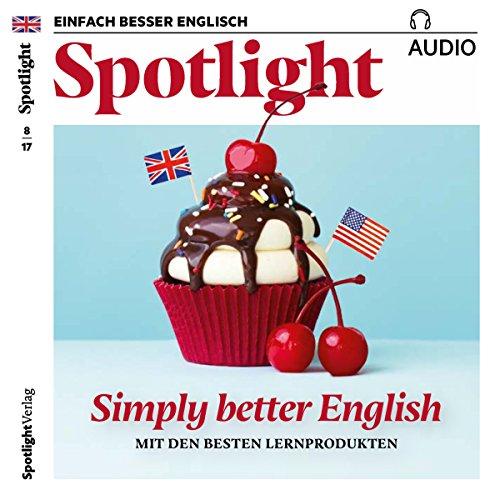 Spotlight Audio - Simply better English. 8/2017 audiobook cover art