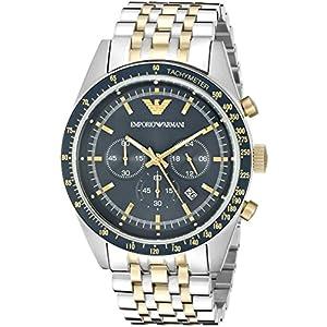 エンプリオ アルマーニ  メンズ クロノグラフ 腕時計 AR6088