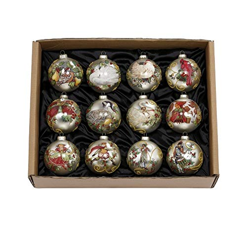 Mark Roberts 12 Days of Christmas Boxed Ornament Set