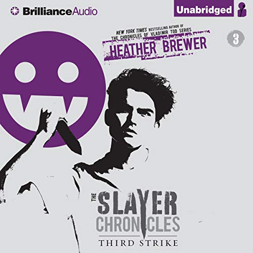 Third Strike Audiobook By Heather Brewer cover art