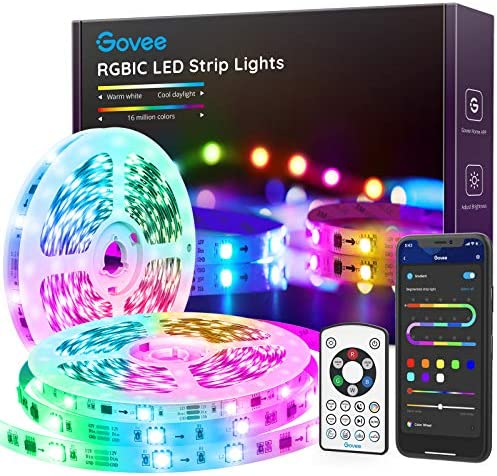 Govee RGBIC LED Strip Lights 32 8FT Bluetooth Color Picking LED Lights with Segmented Color product image