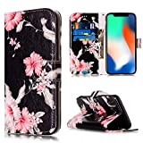 Compatible with iPhone Xs Max Wallet Case,JanCalm...