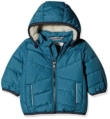 NAME IT Baby-Jungen NBMMUS Puffer Jacket Camp Jacke, Türkis (Storm Blue Storm Blue), (Herstellergröße: 74)