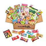 50 Japanese candy 10 Japanese Chocolate 30 snack and sweets with 10 sushi candy