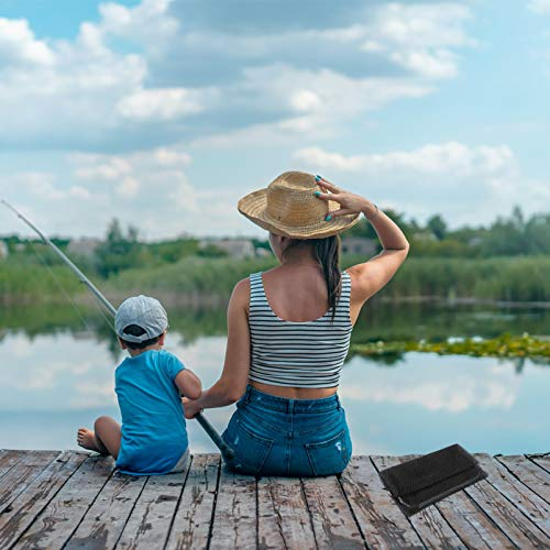 BESPORTBLE Fishing Net Collapsible Fish Landing Net Fishing Accessories for Men Women Outdoor Safe Fish Catching Releasing 2m