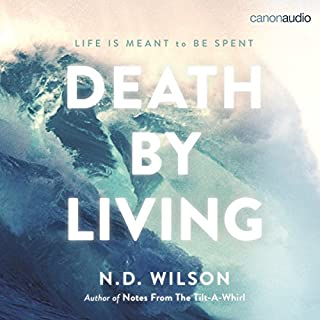 Death by Living audiobook cover art