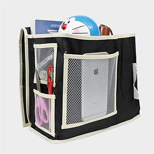 Xtian Bed Pocket,6 Zakken bed opknoping geschorst opbergtas Organizer Closet Organizer, onder bank tafel matras, telefoon, afstandsbediening, tijdschriften, waterflessen