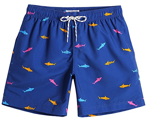 ISLAND STYLE CLOTHING Mens Shorts Sunset Beach Wear Quick Dry