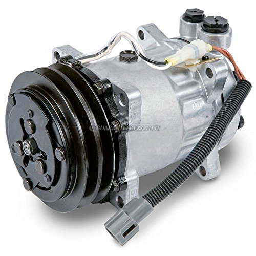 AC Compressor & 2 Groove A/C Clutch For Sterling Replaces Sanden SD7H15HD 4469 4603 - BuyAutoParts 60-01868NA New